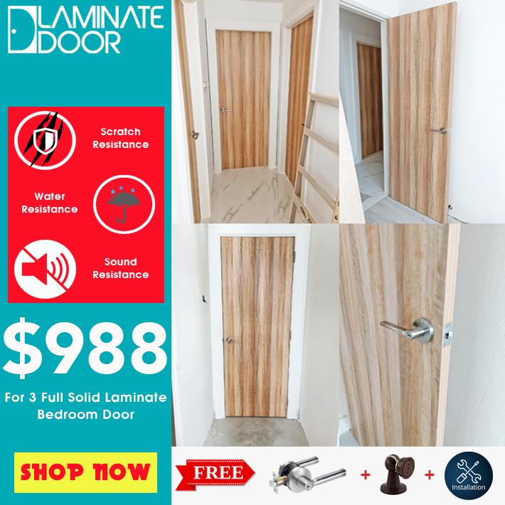 bedroom door promotion