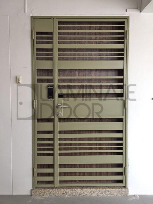 Front Mild Steel HDB Gate LD-503
