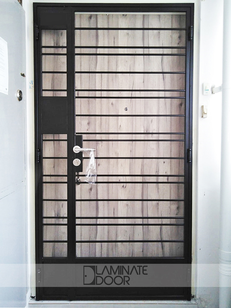 Ld 516 Hdb Mild Steel Gate Hdb Fire Rated Door Metal