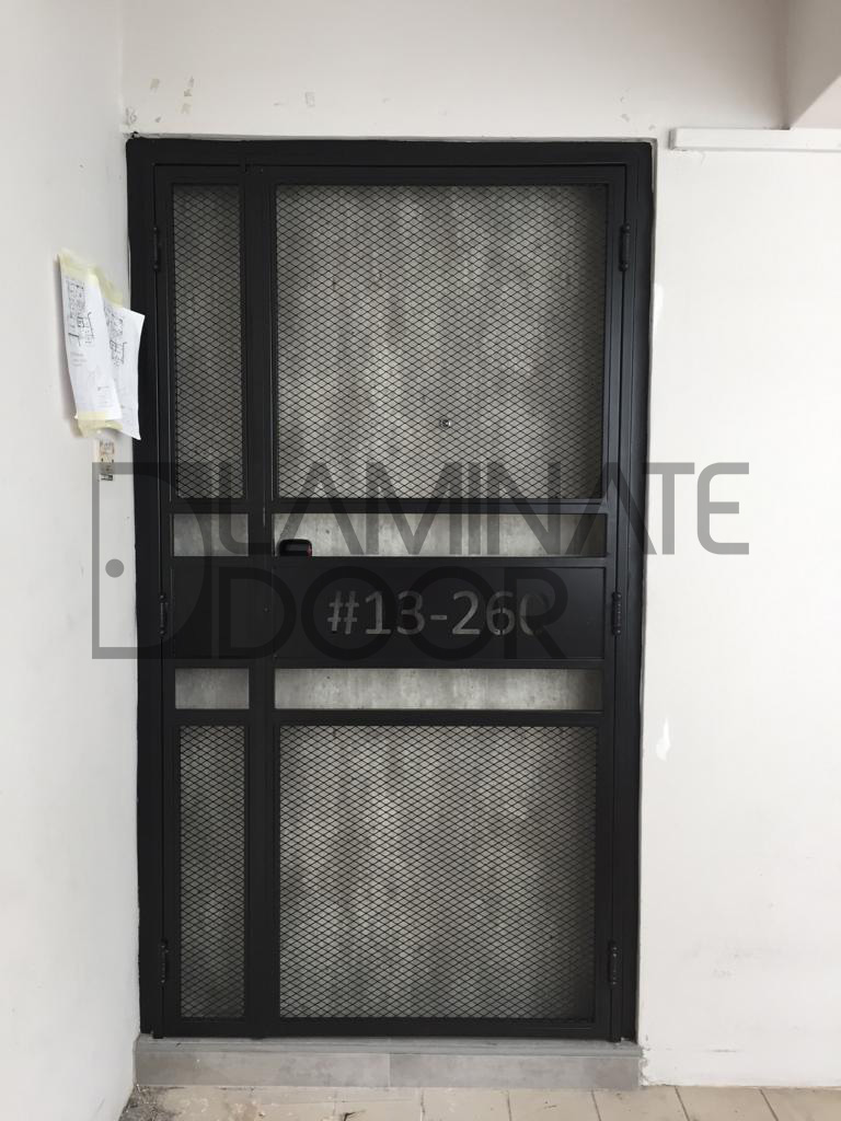 Hdb Fire Rated Main Door Singapore Pozzolan Concrete