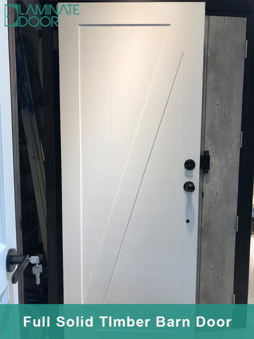 Full Solid Timber Barn Door - Z Brace